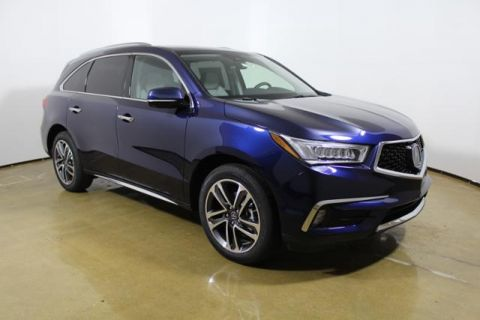 New 2017 Acura MDX SH-AWD with Advance and Entertainment Packages With Navigation