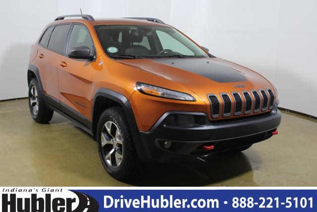Preowned 2015 Jeep Cherokee 4wd 4dr Trailhawk Sport Utility In