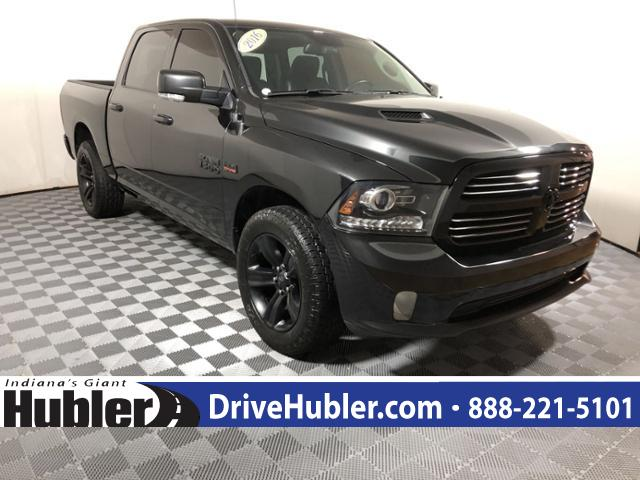 2016 Ram 1500 >> Pre Owned 2016 Ram 1500 4wd Crew Cab 140 5 Sport Crew Cab Pickup