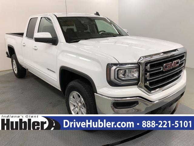 Pre-Owned 2018 GMC Sierra 1500 2WD Double Cab 143.5 SLE