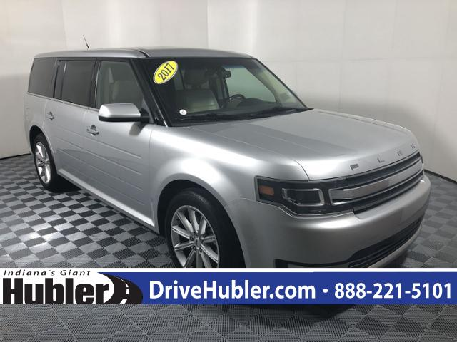 pre-owned 2017 ford flex limited fwd sport utility in greenwood