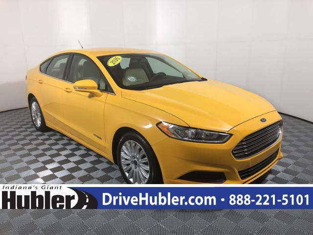 Pre Owned 2016 Ford Fusion 4dr Sdn Se Hybrid Fwd