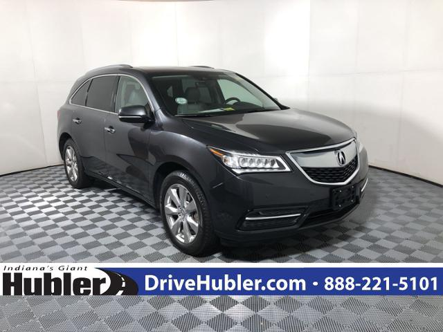 Pre Owned 2016 Acura Mdx Sh Awd 4dr W Advance