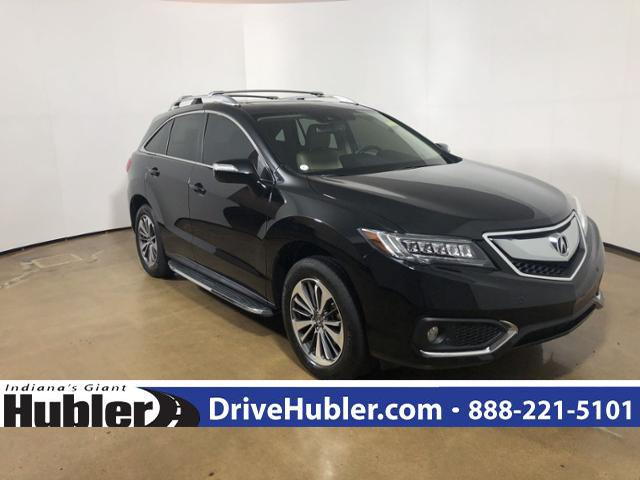 Certified Pre Owned 2017 Acura Rdx Awd With Advance Package