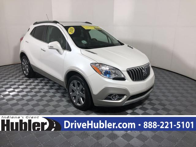 Pre Owned 2016 Buick Encore Awd 4dr Leather