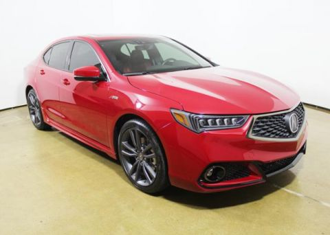 New 2019 Acura TLX 2.4 8-DCT P-AWS with A-SPEC RED