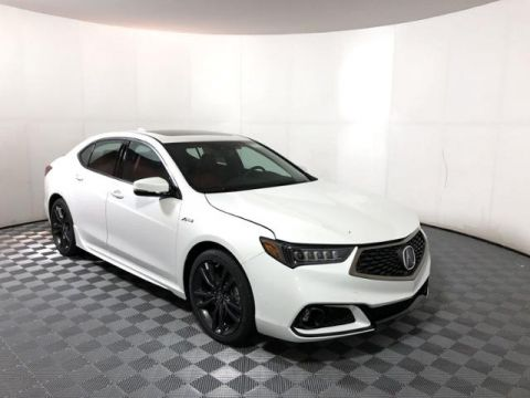 New 2020 Acura TLX V-6 with A-Spec Package and Red Interior