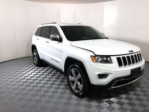 Pre-Owned 2016 Jeep Grand Cherokee 4WD 4dr Limited
