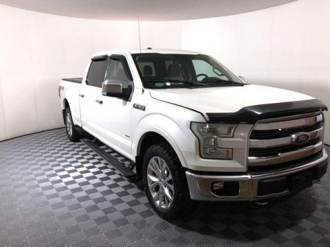 Pre-Owned 2016 Ford F-150 4WD SuperCrew 145 Lariat