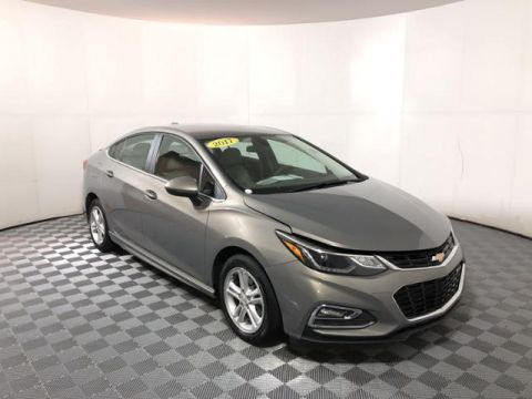 Pre-Owned 2017 Chevrolet Cruze 4dr Sdn 1.4L LT w/1SD