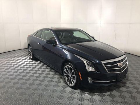 Pre-Owned 2017 Cadillac ATS 2dr Cpe 2.0L Luxury AWD