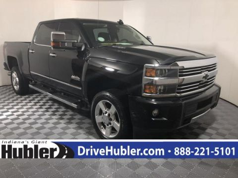 Pre-Owned 2016 Chevrolet Silverado 2500HD 4WD Crew Cab 153.7 High Country
