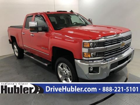 Pre-Owned 2016 Chevrolet Silverado 2500HD 4WD Double Cab 144.2 LTZ