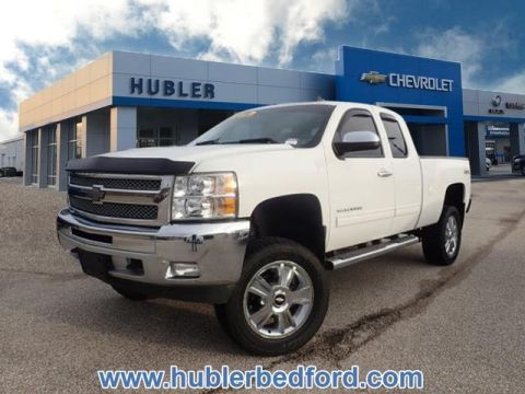 Pre-Owned 2013 Chevrolet Silverado 1500 4WD Ext Cab 143.5 LT