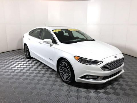 Pre-Owned 2018 Ford Fusion Hybrid Titanium FWD