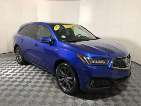 Certified Pre-Owned 2019 Acura MDX AWD ASPEC