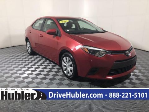 Pre-Owned 2016 Toyota Corolla 4dr Sdn Man L