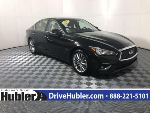 Pre-Owned 2019 INFINITI Q50 3.0t LUXE AWD